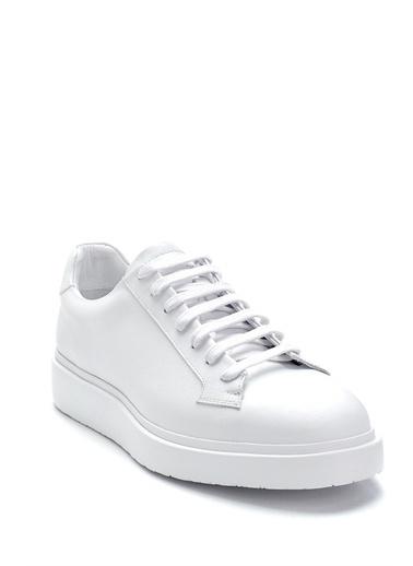 Derimod Erkek Ayakkabı(18540) Sneaker Beyaz
